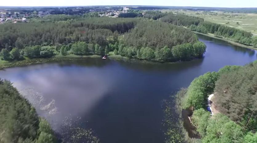 Озера Молетай. Видео