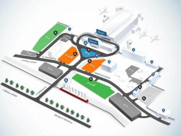 Схема аэропорта Вильнюс